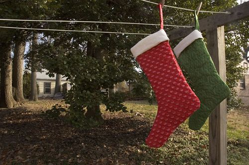 Stockings were hung